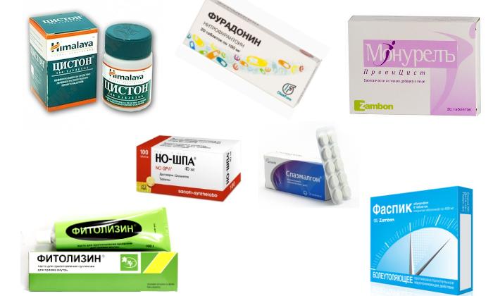 Шесть групп препаратов для лечения острого цистита